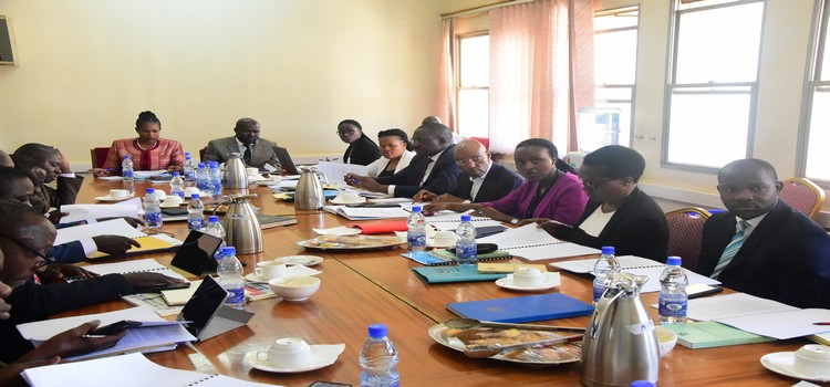 Committee on ICT & National Guidance Committee meeting with officials from the Ministry of ICT & National Guidance on 6