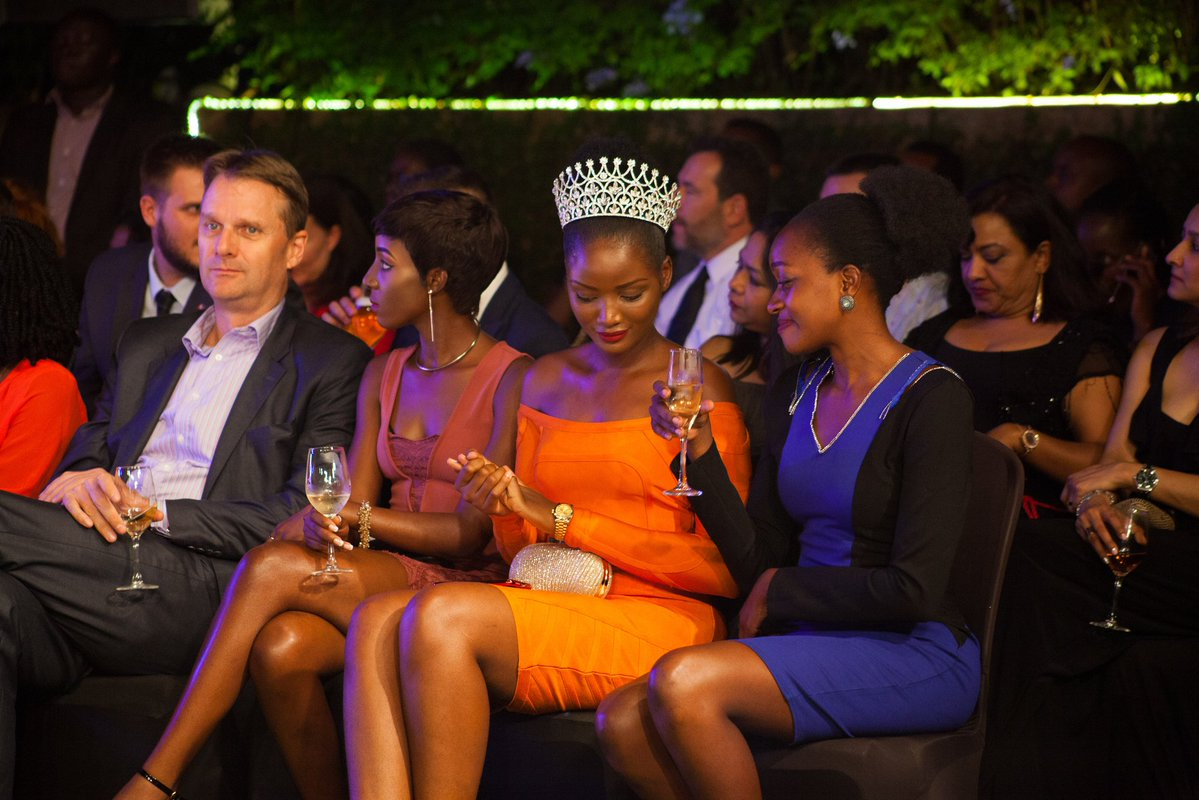 Miss World Africa, Quiin Abenakyo was sighted lost in the glorious event (TALENT AFRICA PHOTO)