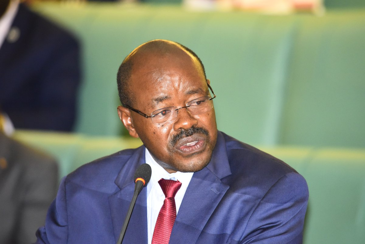 The chairperson of the Budget committee Hon Amos Lugoloobi. (PHOTO/File)