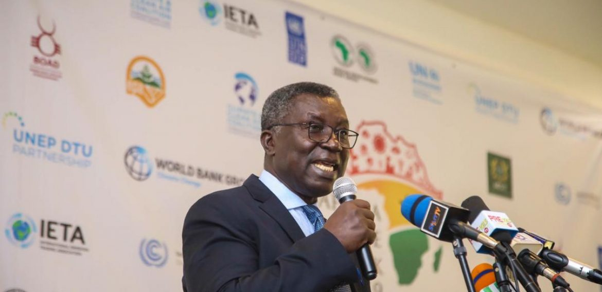 The minister for MESTI, Prof. Kwabena Frimpong-Boateng also graced the 2019 Africa Climate Week (ACW) in Accra. (COURTSEY PHOTO)