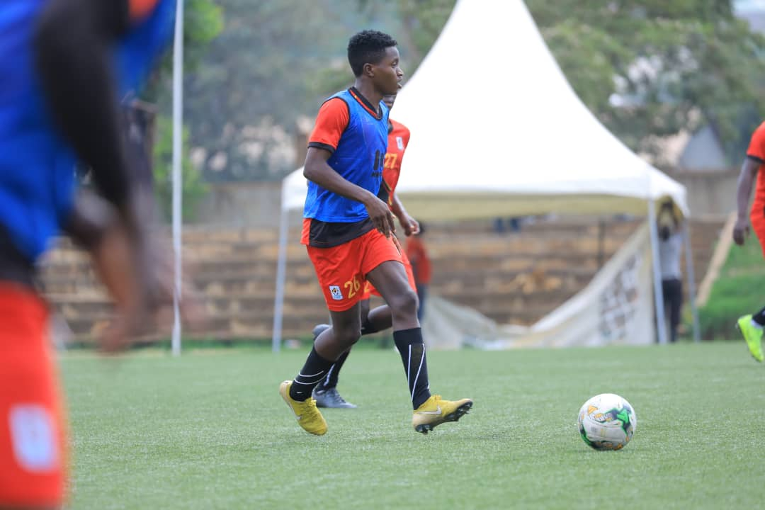 Okello has been training with both the AFCON and CECAFA squads. (File Photo)
