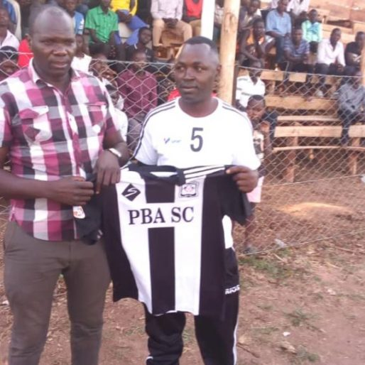 Ssekito (right) was handed the head coach role at Paidha last week (file photo)