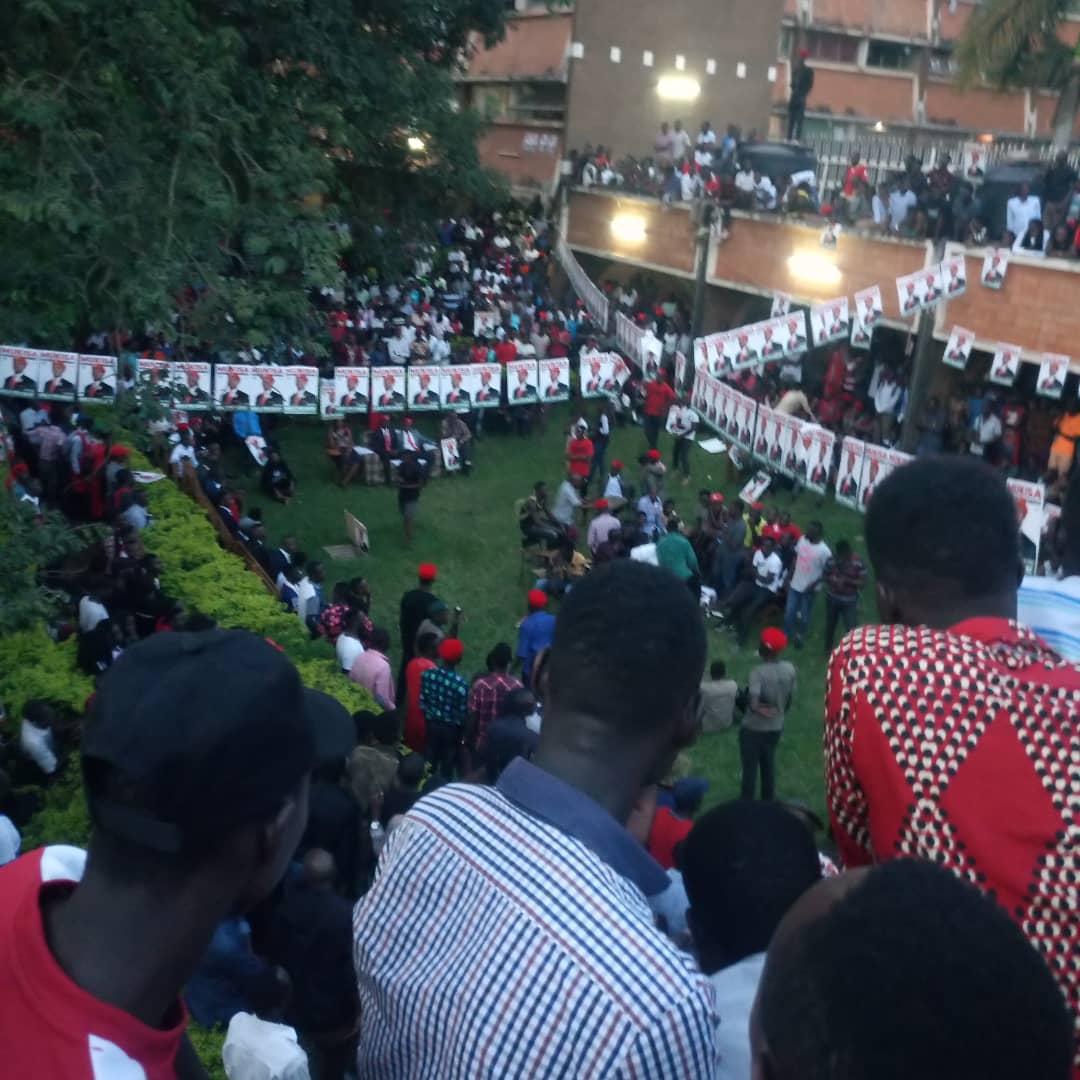 Makerere University guild campaigns. (PHOTO/NAYIGA TRACY)