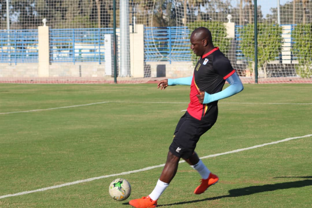 Onyango was initially expected to join camp in Abu Dhabi. (PHOTOS/FILE)