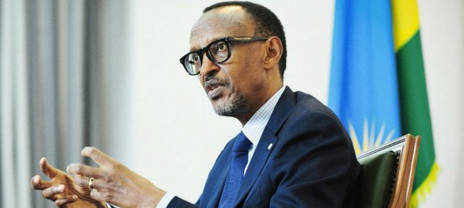Rwandan President H.E Paul Kagame has vowed to close borders with Uganda citing that provocation (FILE PHOTO)