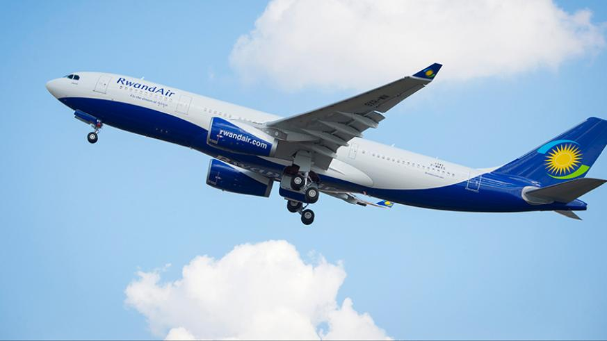 RwandAir among the world's most improved airlines (PHOTO/File)
