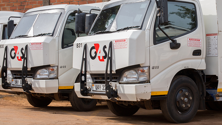 Bullion vans belonging to G4S Security Group. (COURTESY PHOTO)