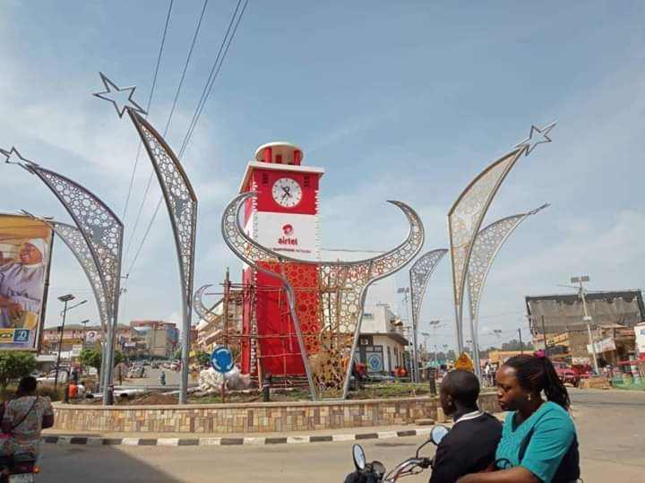 Airtel Uganda's initiate to redesignt the Mbarara monument has met outrage from the public (COURTESY PHOTO)