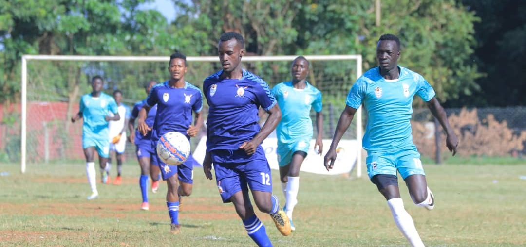 Buganda (purple) are the defending champions (FUFA Photos)