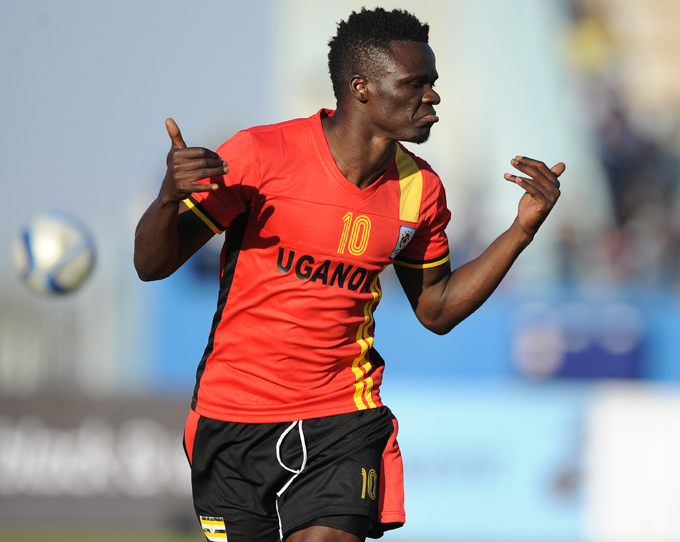 Luwagga is the second Uganda to feature in the Kazakhstan Premier League (Agency Photo)
