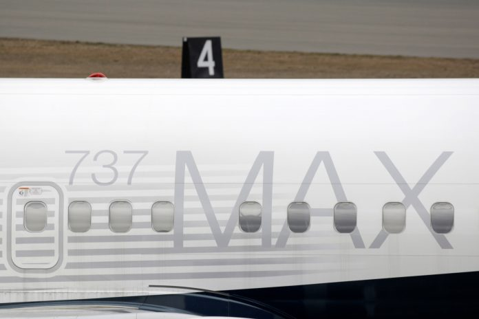A Boeing 737 MAX 8 aircraft is parked at a Boeing production facility in Renton, Washington, U.S., March 11, 2019 (PHOTO/File)