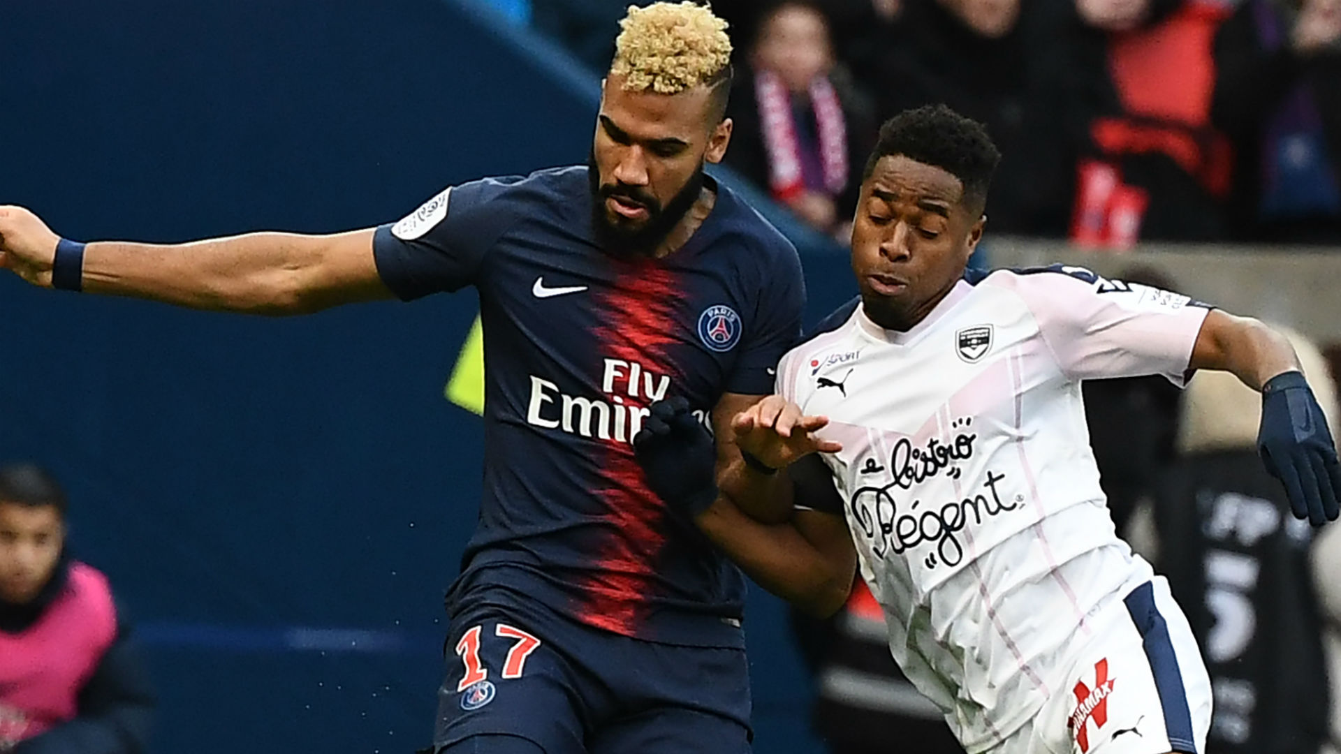 PSG's Choupo-Moting scored twice in Cameroon's victory over Comoros last week (Agency Photo)