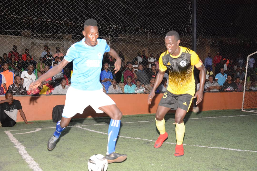 Yeak's Enock Ssebagala (left) tops the scoring charts (file Photo)