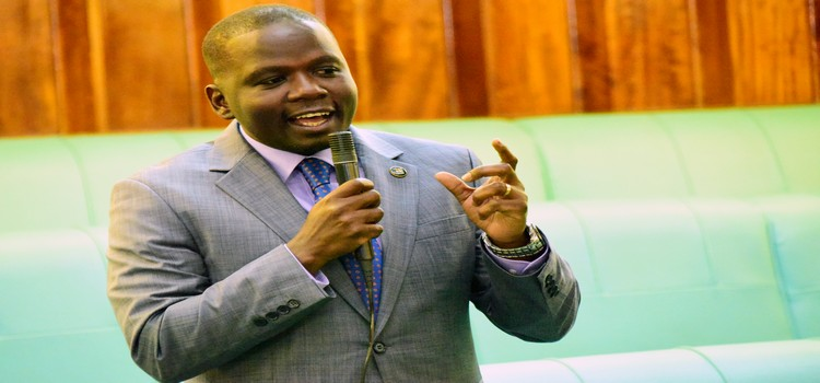 MP Herbert Ariko the proriator of the bill has led a delegation of  Ugandan MPs to UK.