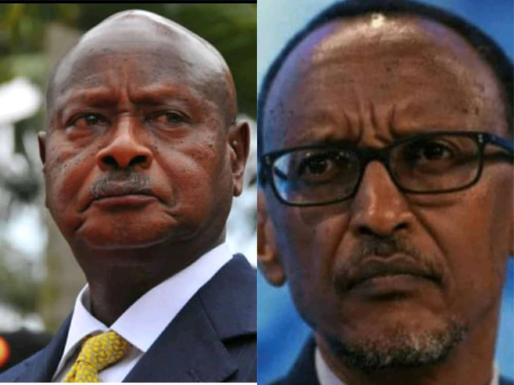 Ugandan and Rwandan presidents respectively. (FILE PHOTO)