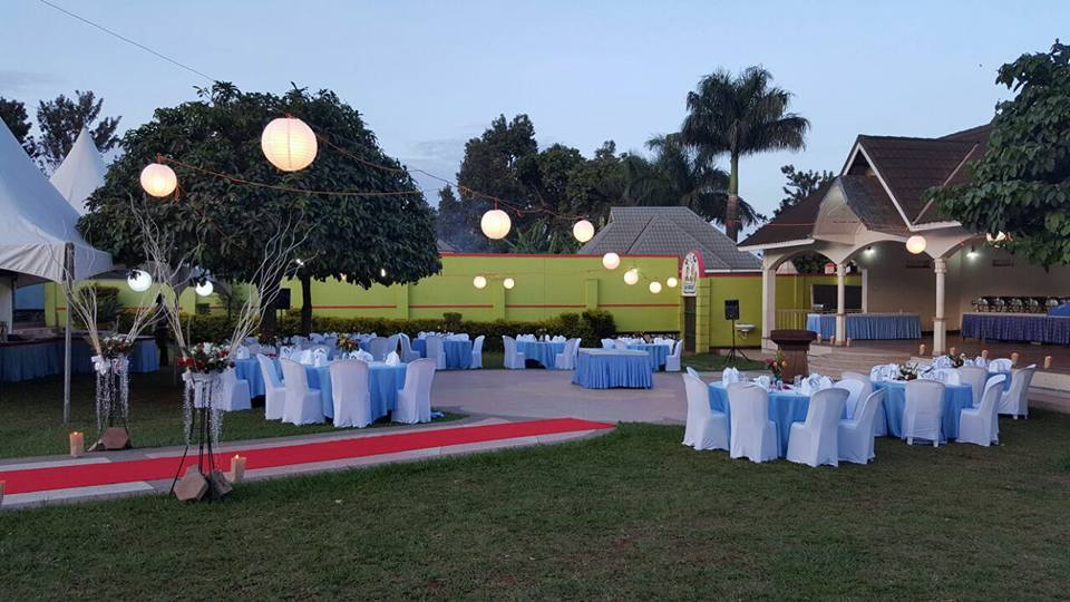 A wedding set-up at Kembabazi Catering Center. (FILE PHOTO)