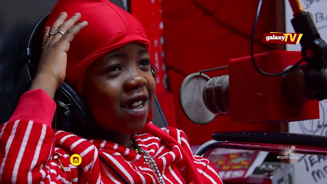 Fresh Kid during an interview with Galaxy FM in Kampala. (PHOTO/FILE)