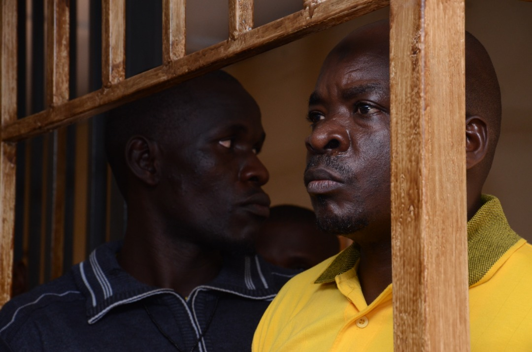 Former Boda-Boda 2010 patron, Abdallah Kitatta in the dock. (PHOTO/Racheal Agaba)