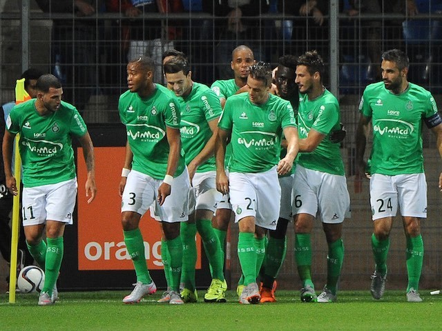 St. Etienne are currently fourth on the Ligue One standings (Agency Photo)