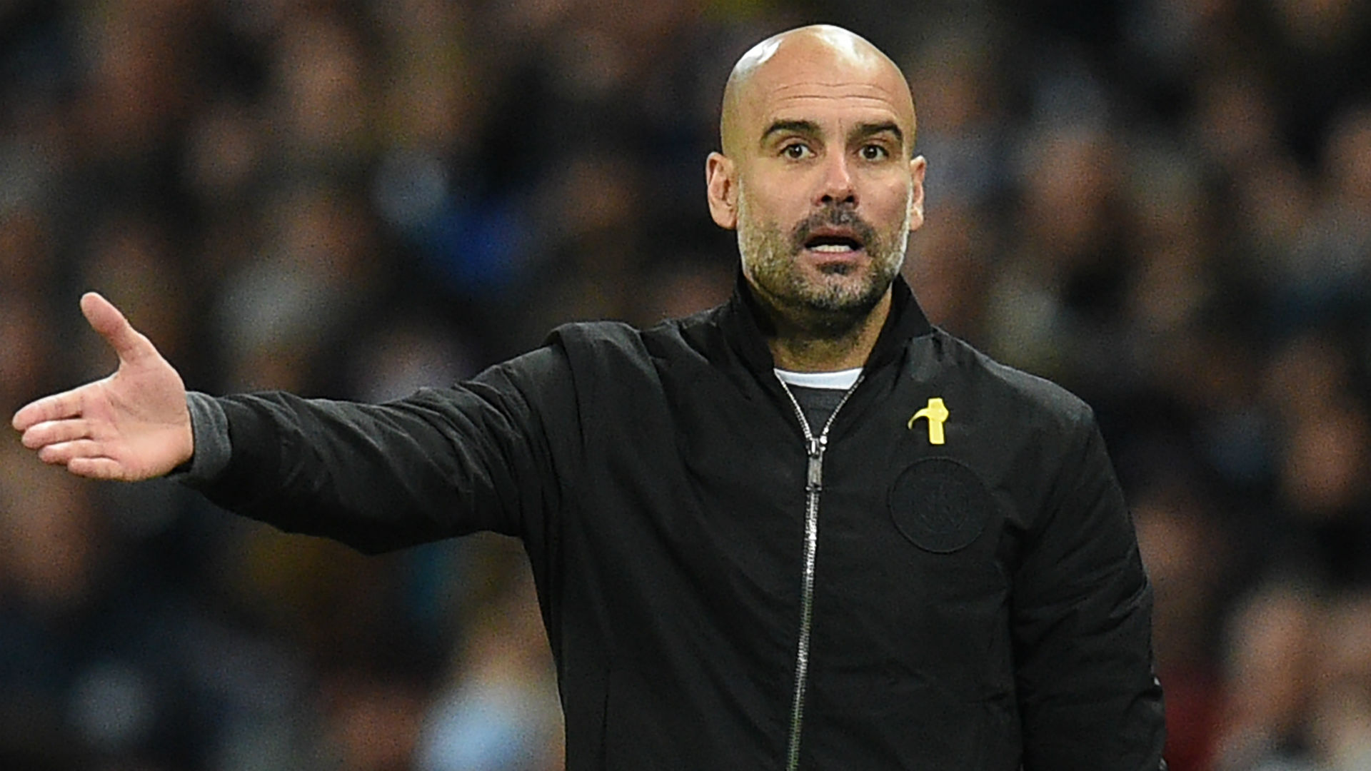 Guardiola led his Man City side to the quarter finals of the Champions League (Agency Photo)