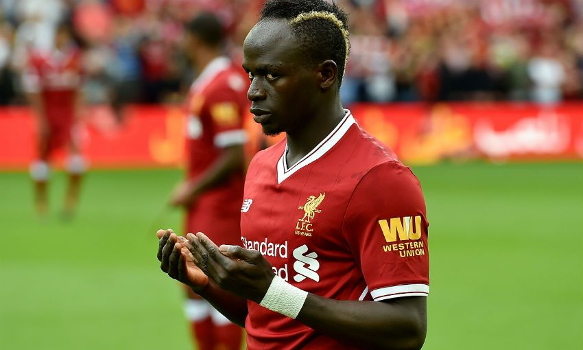 Mane scored twice in the win over Fulham on Sunday