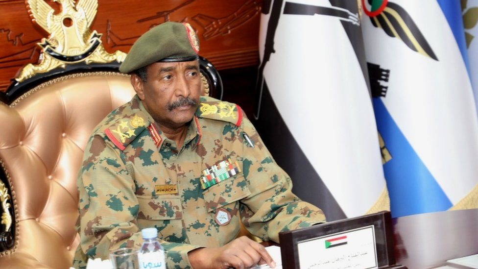 Lt Gen Abdel Fattah Abdelrahman Burhan became head of the transitional military council after the coup leader stepped aside