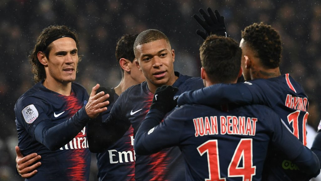 PSG are 20 points clear at the top of Ligue One (Agency Photo)
