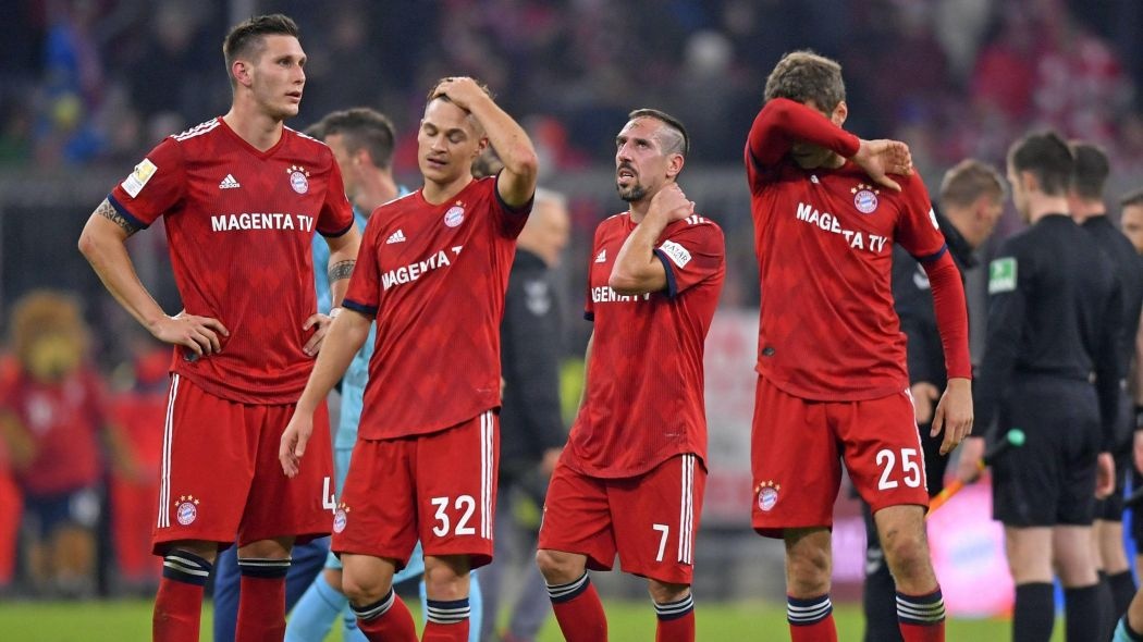 Bayern have now dropped into second on the standings (Agency Photos)