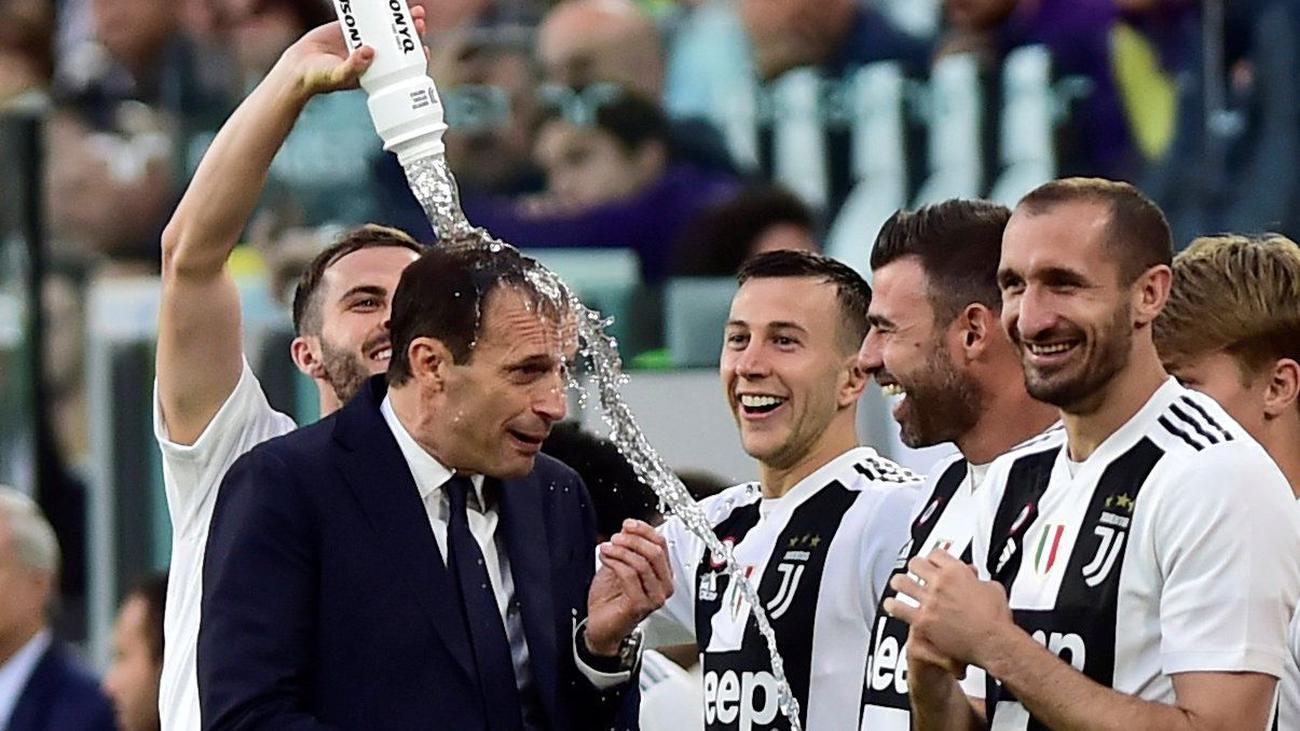 Juve have won the Serie A with 5 games to spare (Agency Photos)