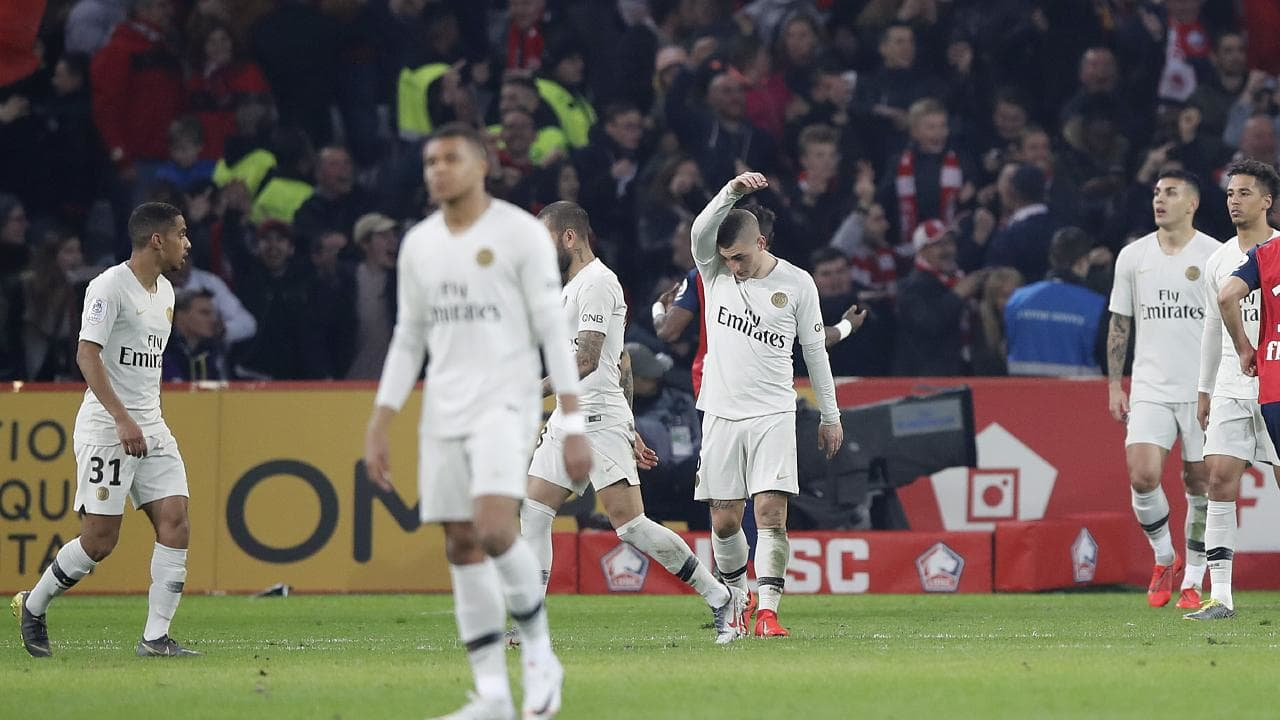 This is PSG's Ligue One heaviest loss in a while. (Agency Photos)