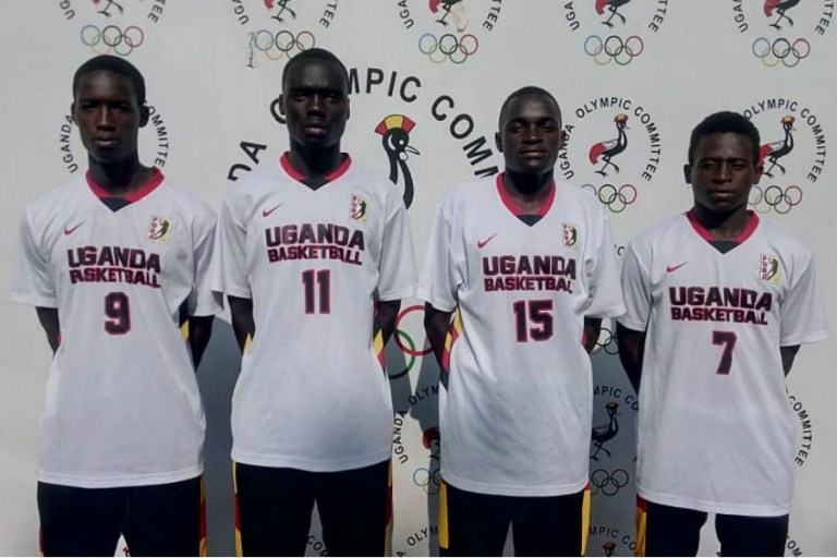 The Boys' 3*3 team poses for a photo at UOC before departure on Monday (Agency Photos)