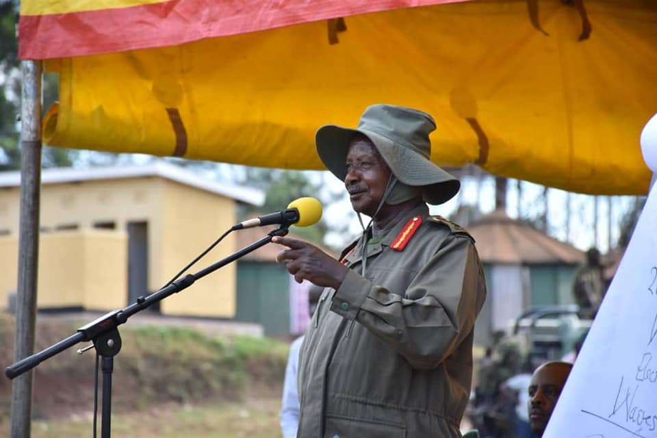 President Museveni has criticized the media over negativity on national economic growth