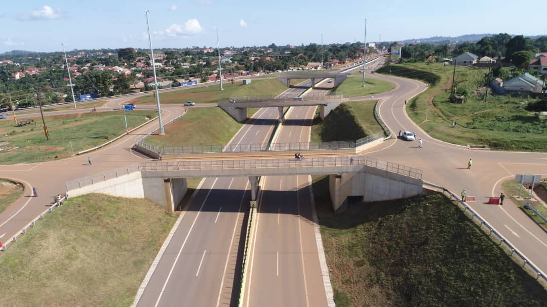 A section of the Kampala-Entebbe expressway