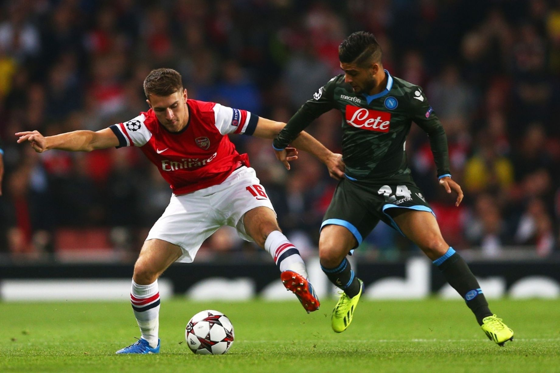 Arsenal and Napoli are facing off for only the second time in history (Agency Photos)