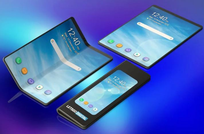 Samsung's folding smartphone