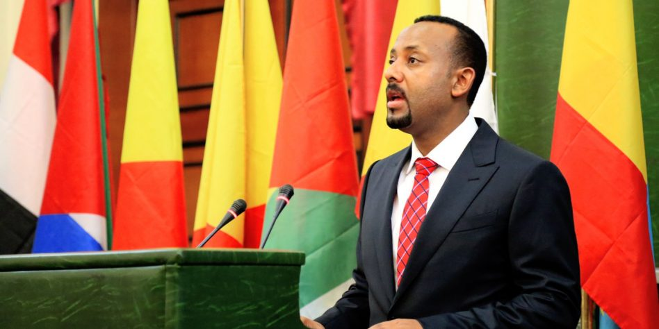 Ethiopian Prime Minister Abiy Ahmed says Federal Army has regain control of Adigrat town from TPLF (PHOTO/Courtesy).