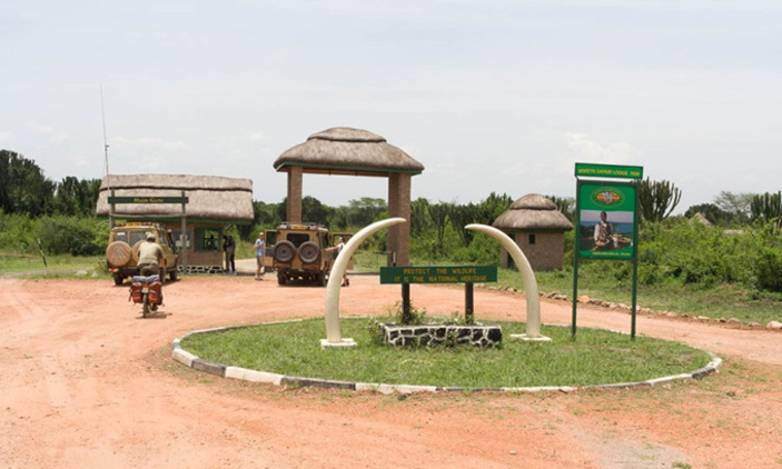 Queen Elizabeth National Park tourist access. Two tourists have been kidnapped and a ransom amounting to UGX1.8Bn has been demanded (FILE PHOTO)