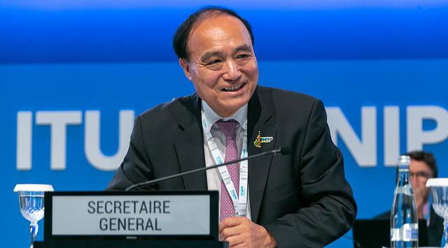 Houlin Zhao Secretary-General of the International Telecommunication Union
