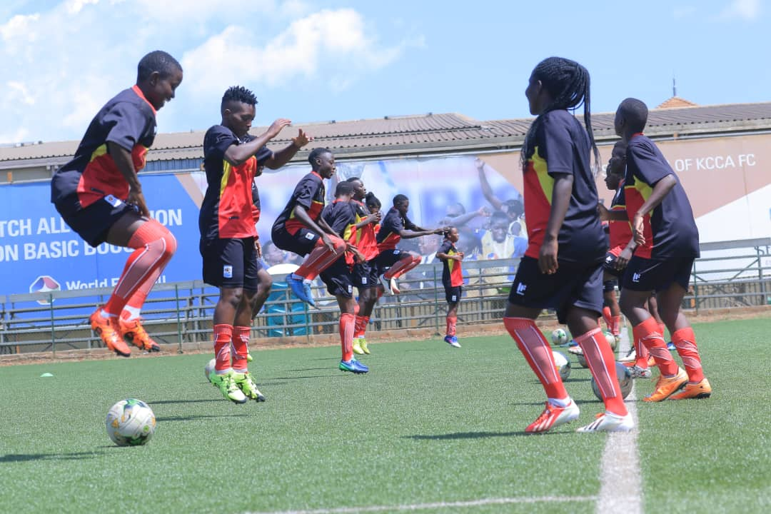 The Crested Cranes lost 3-2 in Ethiopia on Wednesday (FUFA Photo)