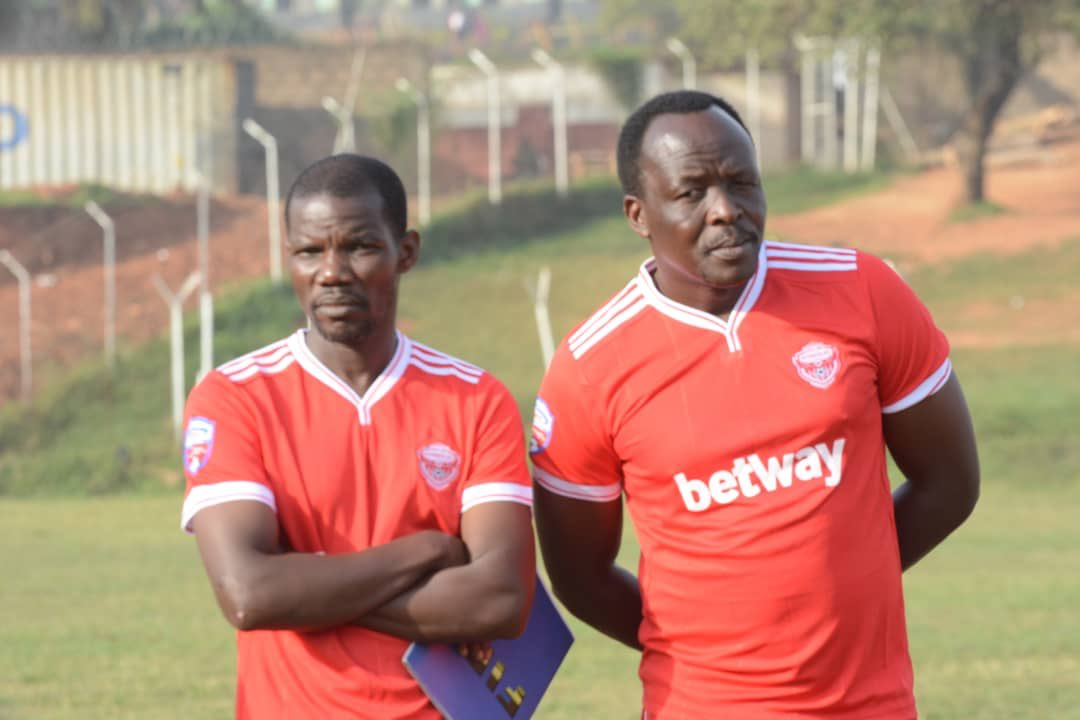 Ssemwogerere (right) is confident his side will reach the finals (file photos)