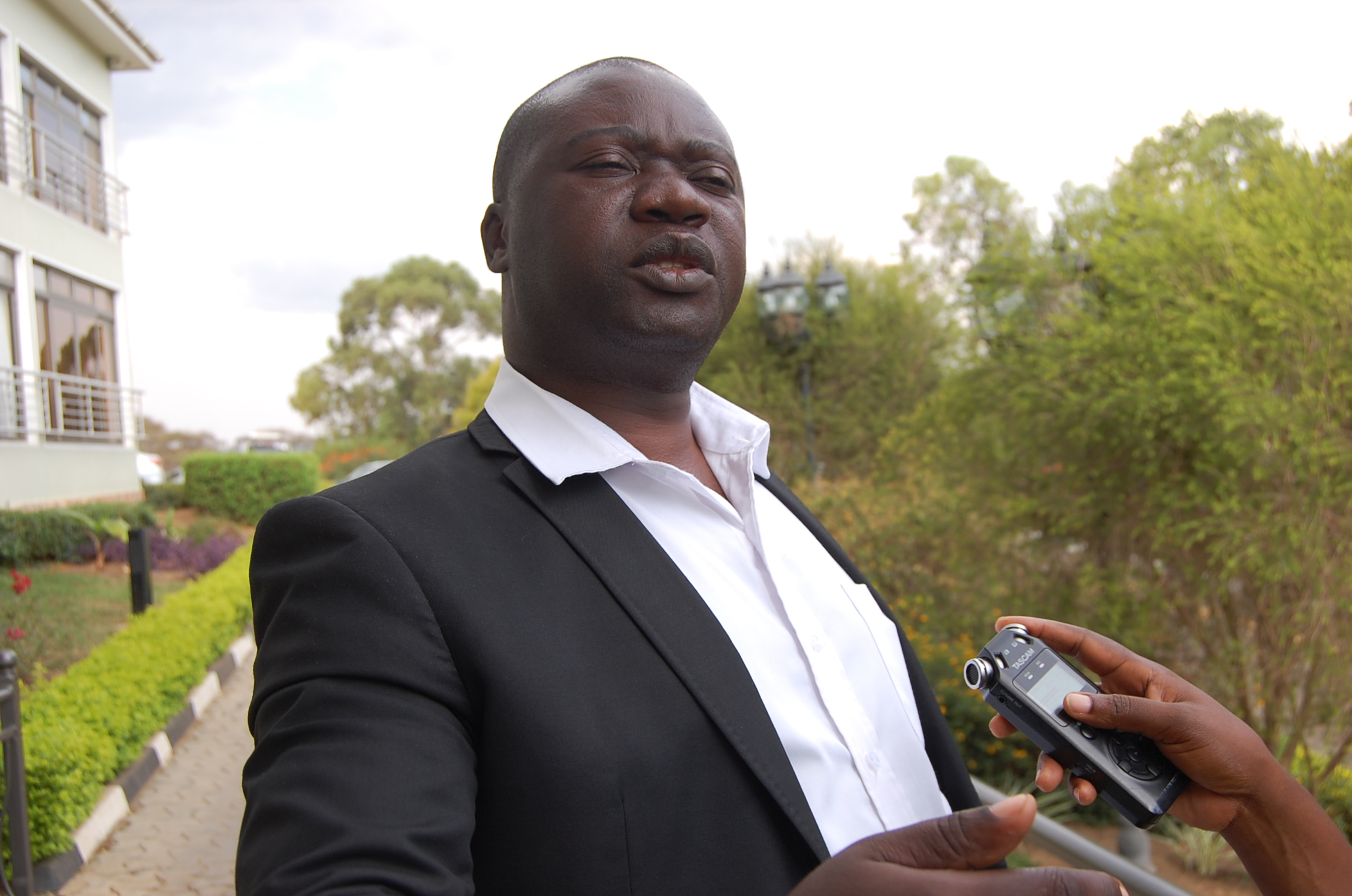 Isingiro District LCV Boss Jeremiah Kamurari has been slapped with an arrest warrant (PHOTO BY BOB AINE)