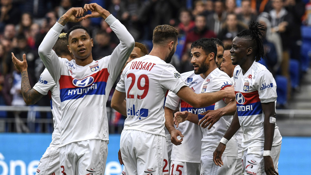 Lyon returned to winning ways last weekend with a win over Angers. (Agency photo)