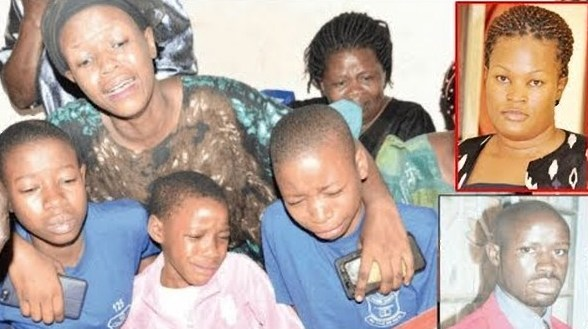 Family of the fallen Ssebulime Ronald mourn and pay their last respects (FILE PHOTO)