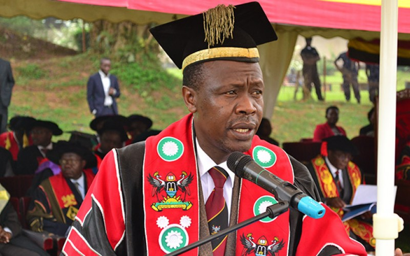 The Academic Registrar - Makerere University Mr. Alfred Masikye Namoah.