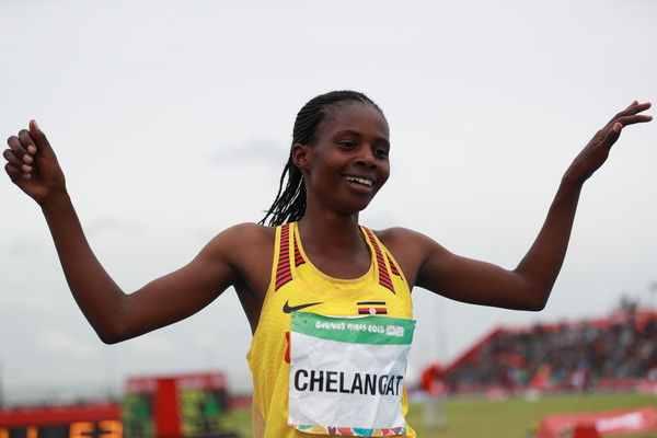 Sarah Chelangat is an Olympic Youth 3000M Champion (Agency Photo)