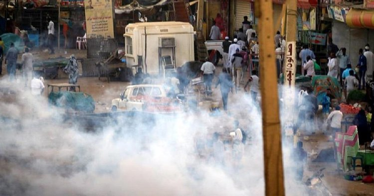 Tear gas used to disperse protesters