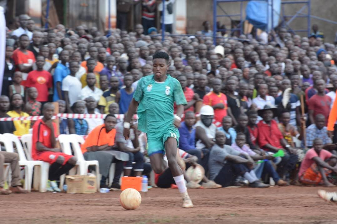 Okello scored a hatrick on Saturday afternoon