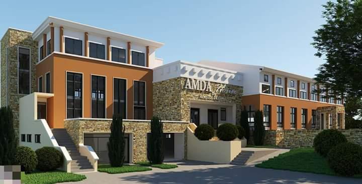 Artistic impression of the AMDA multipurpose building at Lubaga (PHOTO/Courtesy)