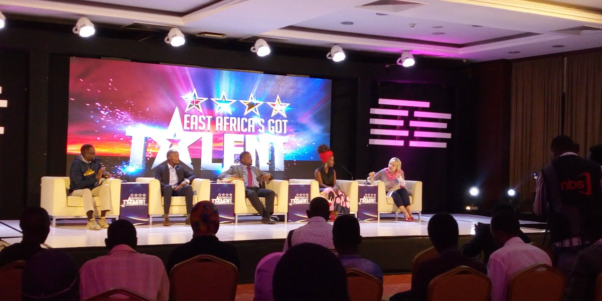 Ann Kansiime said that EAGot Talent is a dream come true for anybody who risks to think there is something they can do that the person next to them cannot...