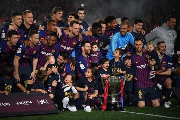 Barcelona have now won 8 of the last 11 La Liga titles (Agency Photos)